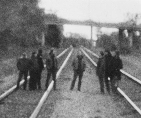 The Canadian instrumental rock collective Godspeed You! Black Emperor.