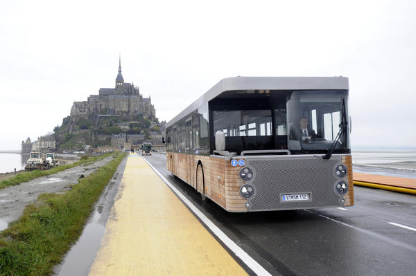 A new shuttle service that carries visitors to and from Mont St. Michel debuted in the spring.