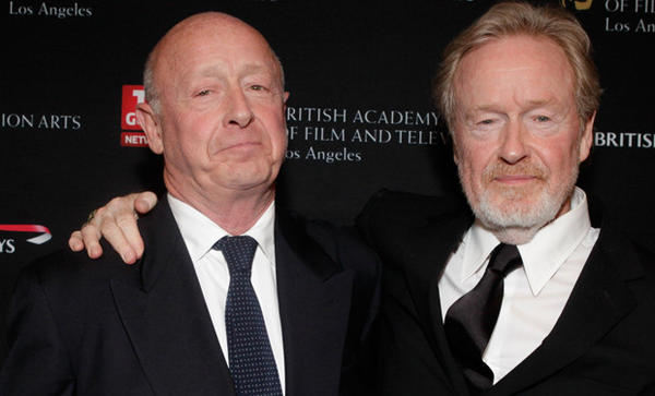Directors Tony and Ridley Scott of Scott Free at the BAFTA Los Angeles 2010 Britannia Awards.