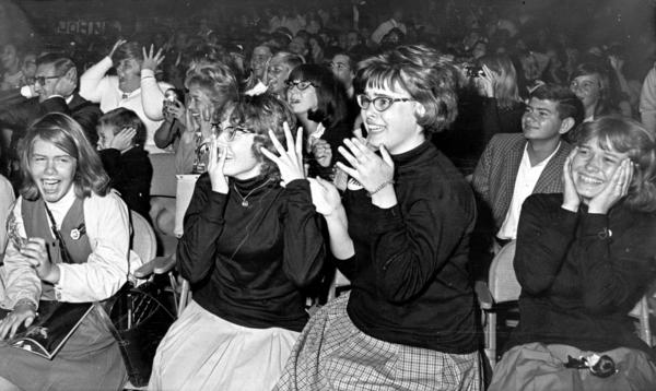 The Beatles played the Baltimore Civic Center on Sept. 13, 1964, and the girls went wild.