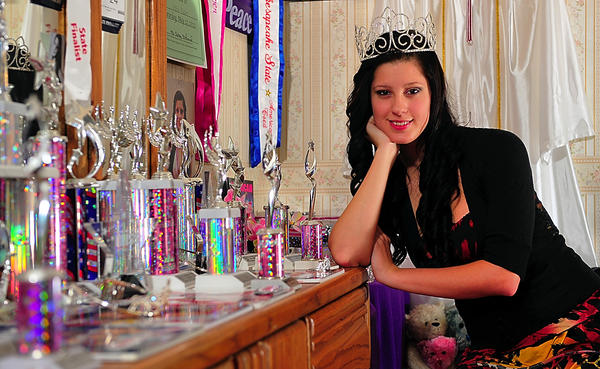 Jessica Madden of Hagerstown is Miss Chesapeake State Teen 2012. She was denied a position in the Alsatia Club Mummers Parade because her title is not associated with the Miss Maryland program.