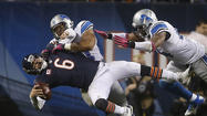 The Chicago Bears survived an injury scare to Jay Cutler and secured an important NFC North victory by defeating the Detroit Lions 13-7 on Monday night.