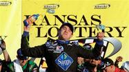 Ricky Stenhouse Jr. rallied from two laps down to win Saturday's Kansas Lottery 300 NASCAR Nationwide Series race at Kansas Speedway and tighten the battle for the series championship.