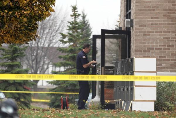 Brookfield, Wis., police on Monday continue to investigate the shooting at Azana Salon and Spa that left four people dead Sunday. Those killed were Cary Robuck, Zina Haughton, Maelyn Lind and the suspected shooter, Radcliffe Haughton.