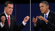 Presidential debate: Romney endorses Obama