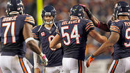 With the kind of viciousness Chicago would support if he were a Bear, Lions defensive tackle Ndamukong Suh violently slammed Jay Cutler into the Soldier Field sod hard enough Monday night to shake a football city's fan base.