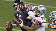 Cutler takes Lions' best shot