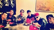 Sighting: Justin Bieber enjoys 'Boyz night' out at Ron of Japan