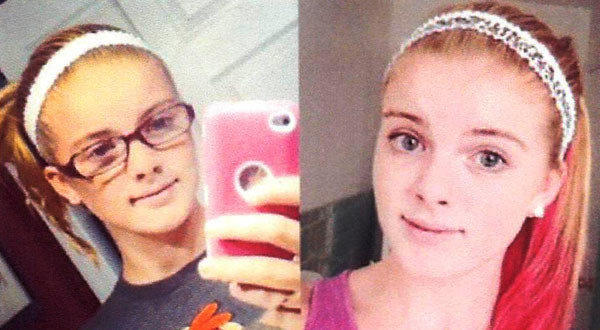 Photos released by Clayton, N.J. Police Department show Autumn Pasquale, 12, of Clayton, N.J.