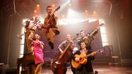 """Million Dollar Quartet,"" the Broadway jukebox musical developed in Chicago, where it still runs after more than four years, is now headed to a sit-down engagement in Las Vegas."