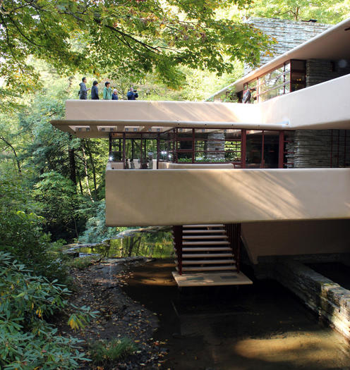 Travel to Frank Lloyd Wright's Fallingwater in Mill Run, Pennsylvania