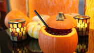 Cinebistro in Hampton has gotten into the fall swing with fun cocktails served in a freshly carved pumpkin.