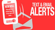 Sign-up to receive text alerts including breaking news and weather