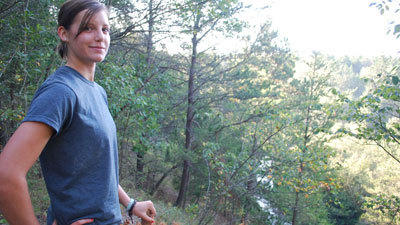 Sarah Topp, Pigeon River Forest summer intern
