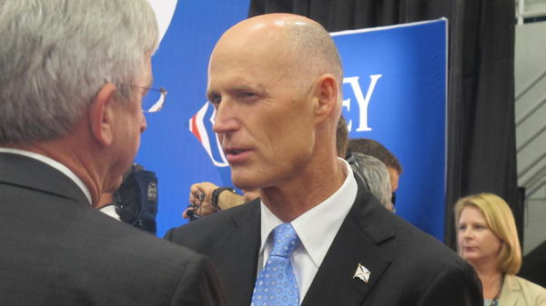 Florida Gov. Rick Scott, Republican