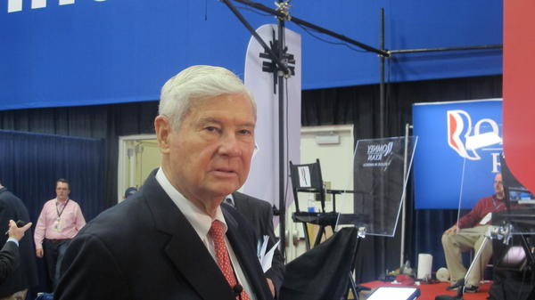 Former Florida Governor/U.S. Sen. Bob Graham, D-Florida
