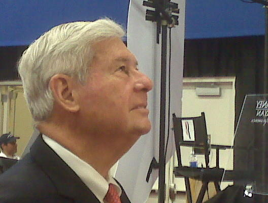 The former governor and senator from Miami Lakes, Democrat Bob Graham