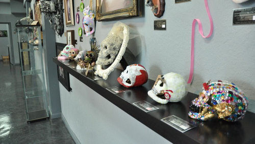 Heads will roll: The Skull Show at Ink and Pistons -