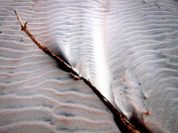 Sandscapes, photographed at Ormond Beach, Fla., October 12, 2012.