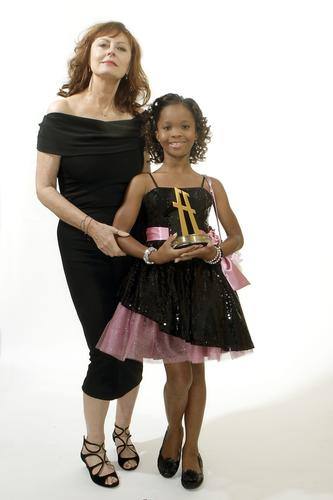 Susan Sarandon and Quvenzhane Wallis.