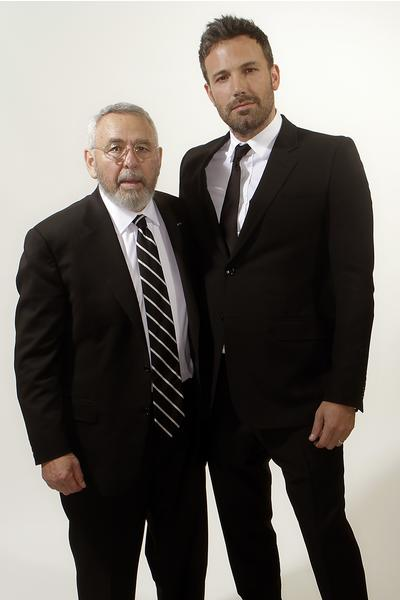 Ben Affleck with ex-CIA agent Tony Mendez.