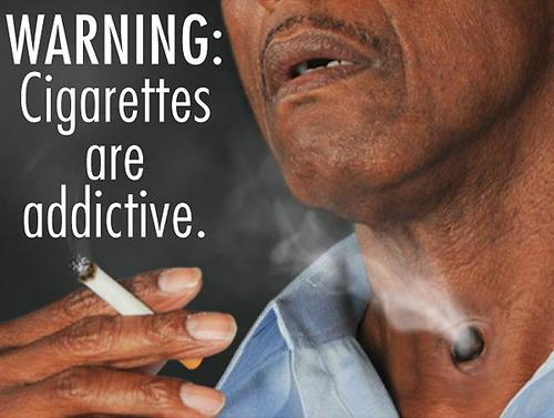 In the first major change to cigarette packaging in a quarter-century, the Food and Drug Administration said Wednesday it will require graphic warning labels that cover half a package's front and rear and the top 20% of all cigarette ads.