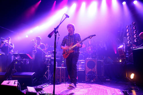 Trey Anastasio Band performs at the Sherman Theater in Stroudsburg on Monday, Oct. 22.