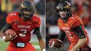 Caleb Rowe and Devin Burns present two different QB options for Maryland