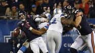 Is Jay Cutler really going to get up after that hit? That's exactly what I was thinking after the shot the Bears' quarterback took from the Lions' Ndamukong Suh on Monday night.