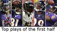 Top 5 plays of the Ravens' (unofficial) first half