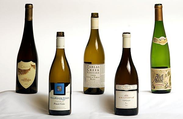 Good fall wines include these selections from Europe and the U.S.