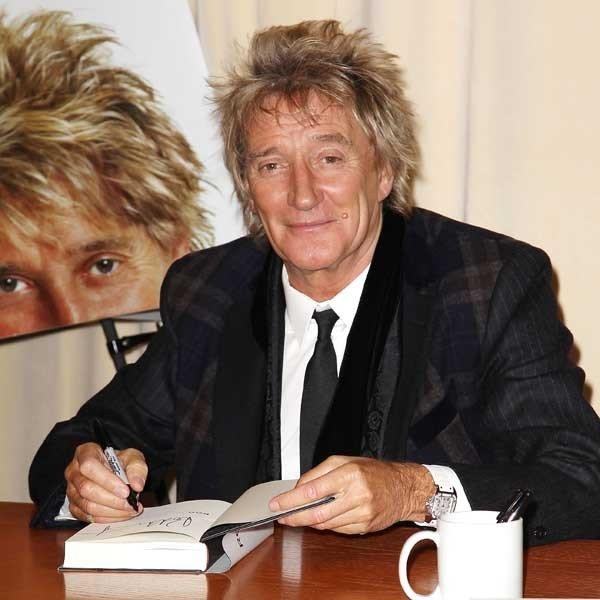 "Rod Stewart will be a guest on ""Good Morning America"" and ""Late Night With Jimmy Fallon"""