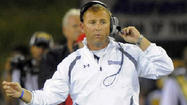 A year after being celebrated as one of the top college football coaches in the country, Towson's Rob Ambrose has been accused by a disgruntled former player of breaking NCAA rules and making offensive remarks to help pump up his team in a pre-game pep talk earlier this season.