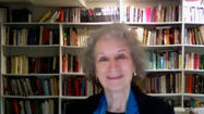 Margaret Atwood on her Byliner serial and dystopia fun [video]