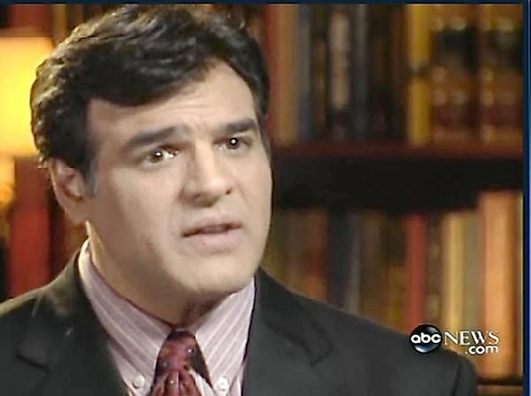 John Kiriakou speaks on television in December 2007, after he had left the CIA, describing the waterboarding interrogation technique used to persuade suspects to divulge details about evolving terrorist plots.