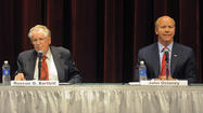 Bartlett, Delaney face off on state ballot questions