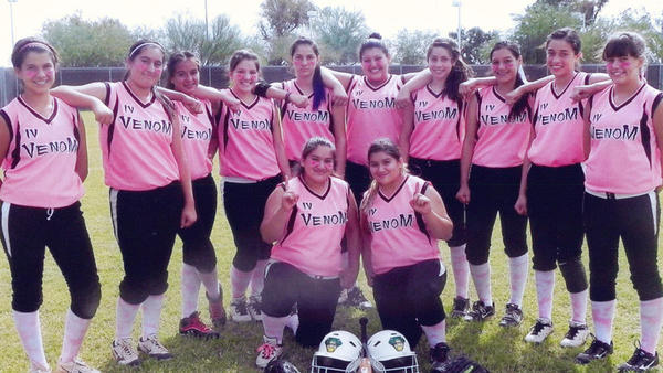 The Imperial Valley Venom 14-and-under fastpitch softball team won the Triple Crown Sports Junior Future Stars Championship earlier this month in Phoenix.