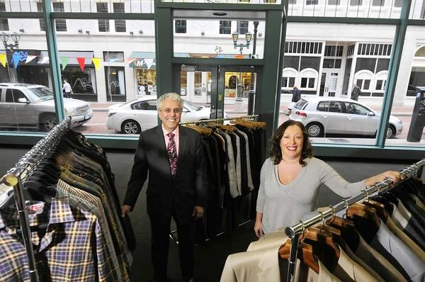 Stackpole Moore Tryon Tuesday owners Ron and Jody Morneault will open pop-up store in a space up Pratt Street from its flagship store.