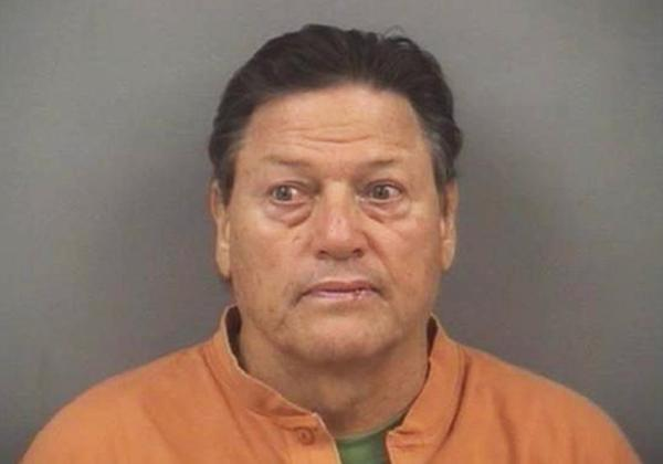 Carlton Fisk's booking photo, provided by the New Lenox police.