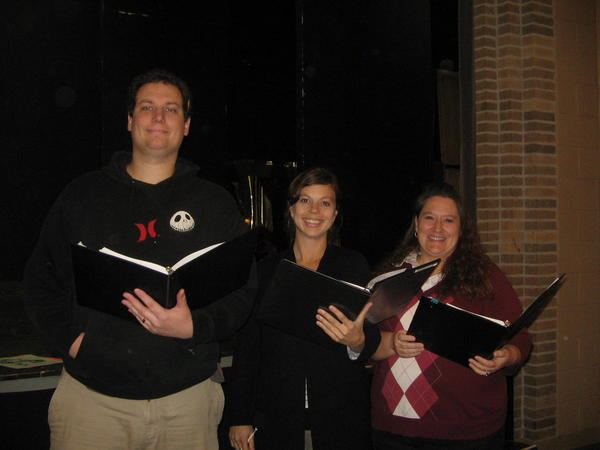 "A musical medley from ""Beauty and the Beast"" at the Northern Michigan Chorale fall concert will feature soloists (from left) Tony Fighter, Jamie Platte, Dore Fursten-berg and (not pictured) Anthony La Joye."