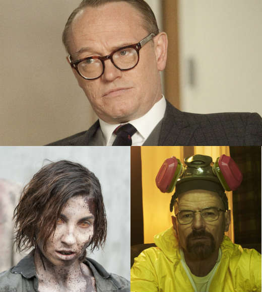 "AMC's got some of the best shows on TV with ""Mad Men,"" ""Breaking Bad"" and ""The Walking Dead."" Pay homage to all three with Zombie Meth Lane -- get yourself a sharp '60s suit, some thick glasses, zombie makeup and some blue rock candy. Bonus points if you convince someone to dress as Pete Campbell so you can beat him up, then gnaw on him."