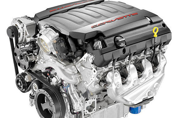 2014 Corvette engine