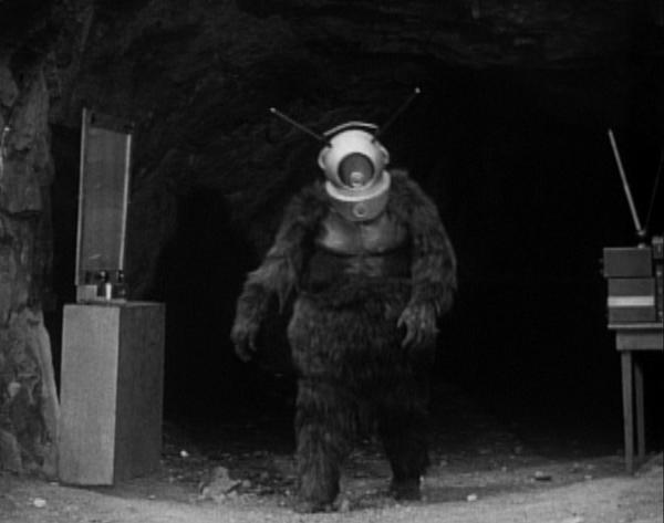 "Though ""Robot Monster"" isn't a good movie, its awfulness has made it a classic. And the set, featuring Ro-Man's sinister bubble machine, is actually the cave in Bronson Canyon Park. Fans of '60s TV will also recognize this location as the Batcave from the Adam West ""Batman"" series.