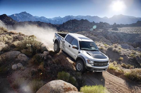 Ford's F-150 SVT Raptor is an elegant off-road dominator