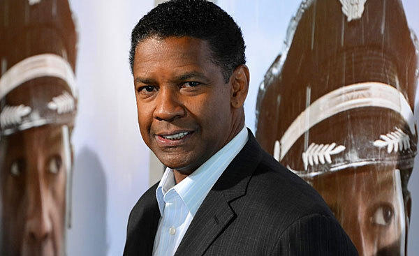 "Actor Denzel Washington walks the red carpet at the Los Angeles premiere of his new film, ""Flight."""