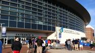 NBA in downtown Wichita - OKC vs. Dallas