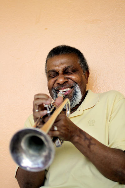 "South Florida jazz musician Melton Mustafa is back on the scene -- and at work as a professor of music at Florida Memorial College -- after battling Stage 4 pancreatic cancer. He'll perform an album-release party Friday, Oct. 26, at the Arts Garage in Delray Beach. The album is titled ""The Traveling Man."""