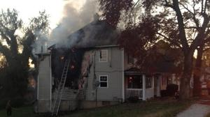 UPDATED: Roanoke house fire started on a stove