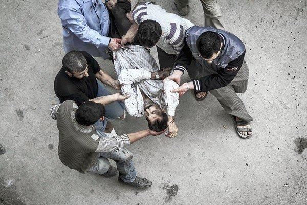 Aleppo, Syria, attack