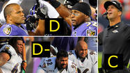 Mike Preston's midseason Ravens grades